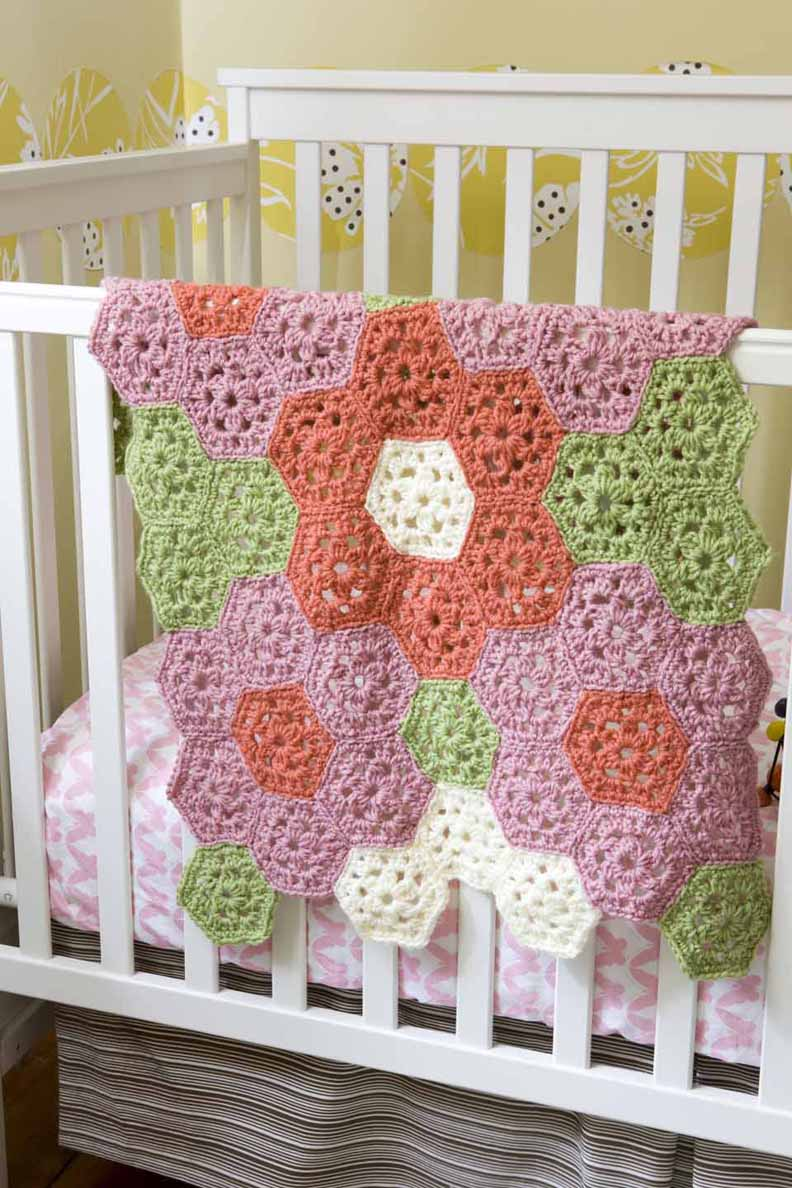 Garden Coverlet Pattern (Crochet)
