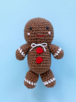 Gleeful Gingerbread Friend (Crochet)