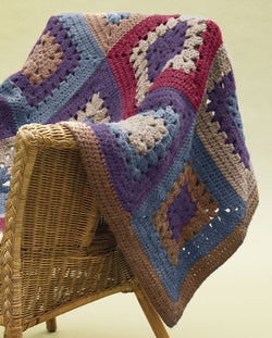 Granny Throw Pattern (Crochet)