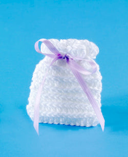 Half Double Crochet Wedding Favor Sachet Pattern (Crochet)