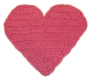 Heart Potholder (Crochet)