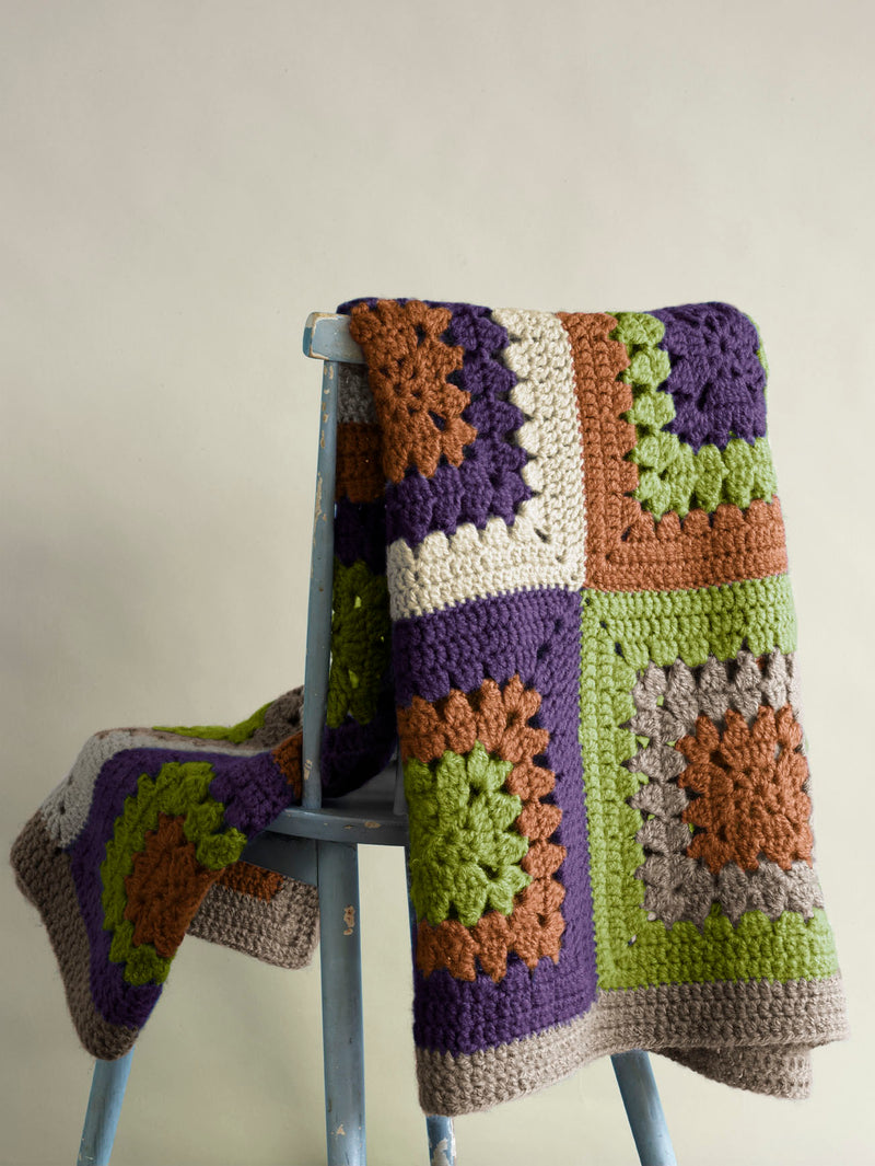 Hither Green Throw (Crochet)