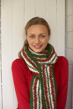 Holiday Scarf (Crochet)