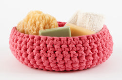 Large Crocheted Bowl Pattern