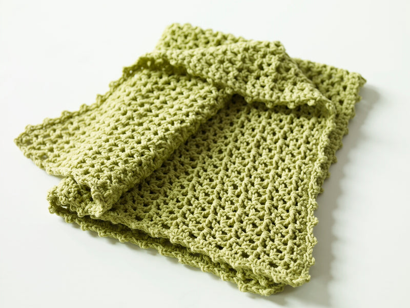 Little V Stitch Blanket Pattern (Crochet)