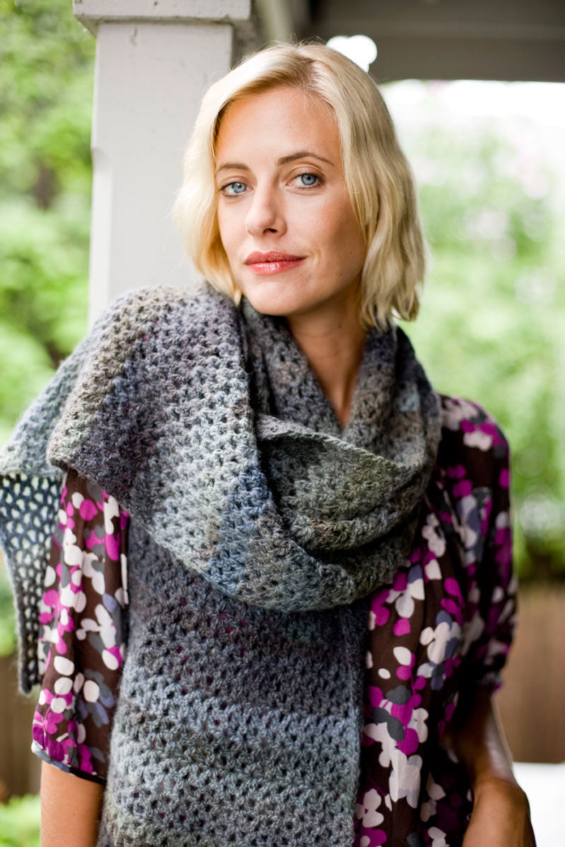 Maple Shade Wrap Pattern (Crochet)