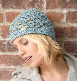 Mod Lace Hat Pattern (Crochet)
