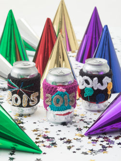 New Year's Cup Cozies (Crochet)