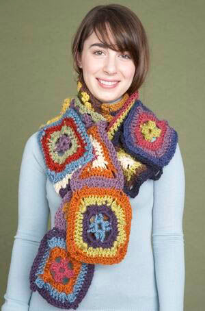 Not Your Average Granny Scarf Pattern (Crochet)