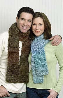 One skein beginner scarf Pattern (Crochet)