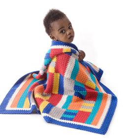 Patchwork Style Throw Pattern (Crochet)