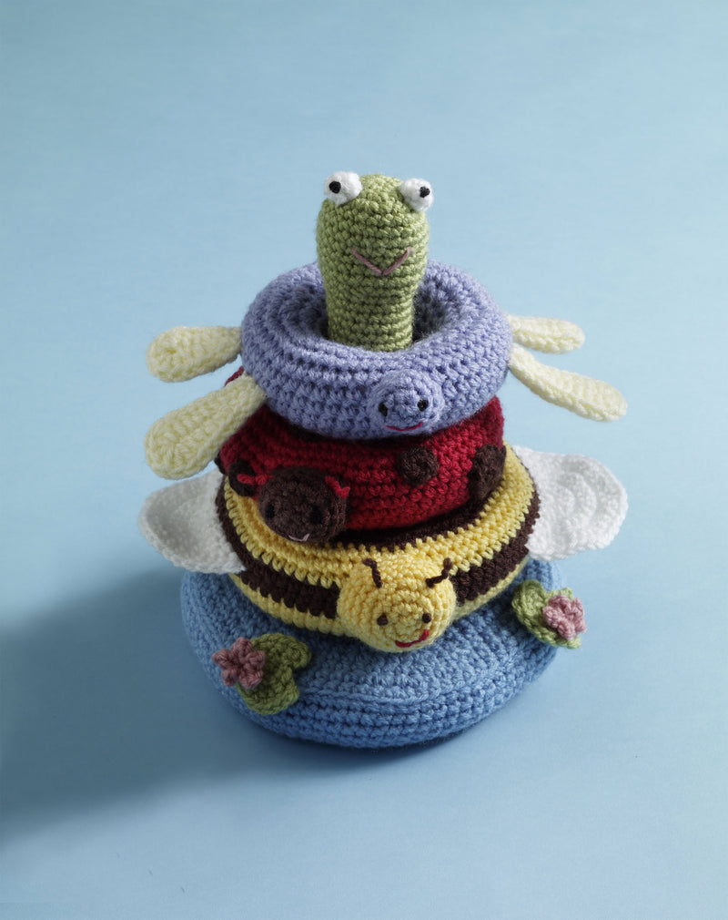 Pond Friends Stacking Toy Pattern (Crochet)