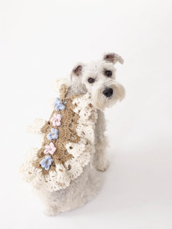 Princess Dog Coat Pattern (Crochet)
