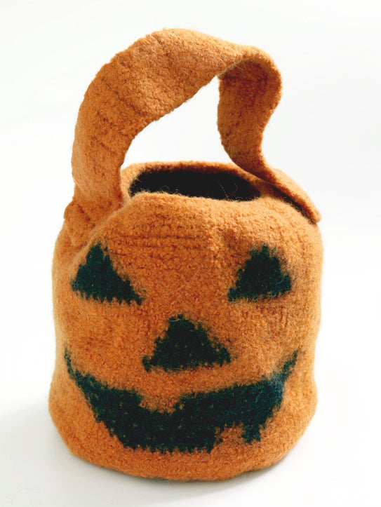 Pumpkin Candy Bag Pattern (Crochet)