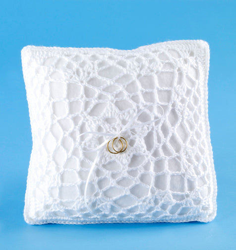 Ring Bearer's Pillow Cover (Crochet)