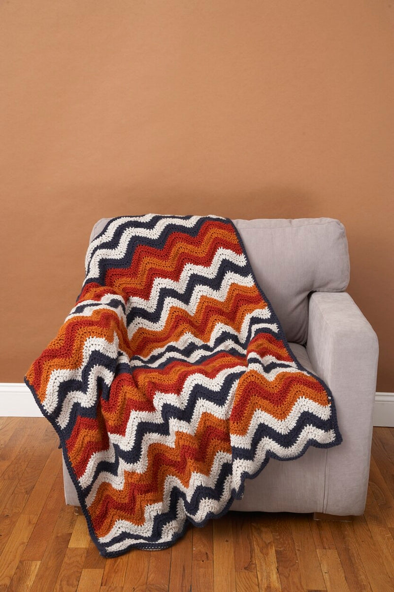 Ripple Afghan Pattern (Crochet)
