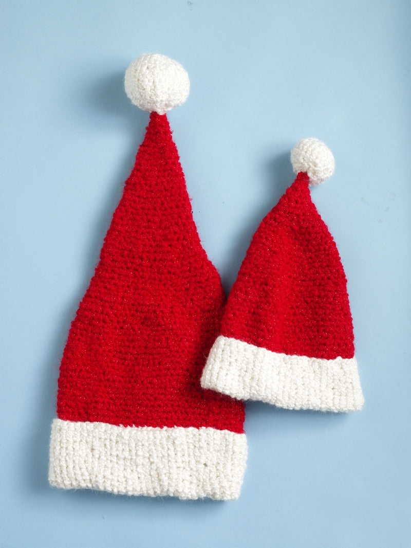 Santa Hat Pattern (Crochet)