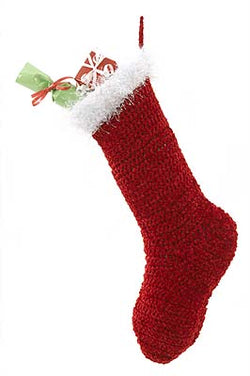 Santa Stocking Pattern (Crochet)