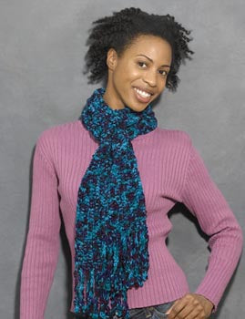 Sensational Scarf Pattern (Crochet)