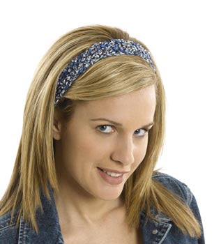 Silky Headband Pattern (Crochet)
