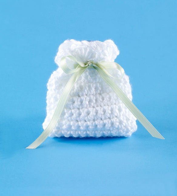 Single Crochet Wedding Favor Sachet Pattern (Crochet)