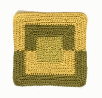 Square Washcloth (Crochet)