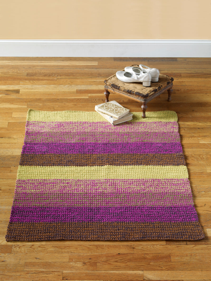 Step Lively Rug Pattern (Crochet)