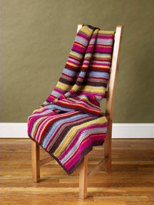 Stripes Blanket Pattern (Crochet)