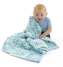 Super Soft Granny Baby Blanket Pattern (Crochet)