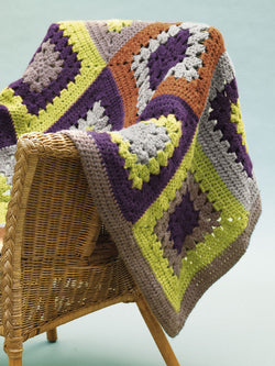 Tinton Falls Throw (Crochet)