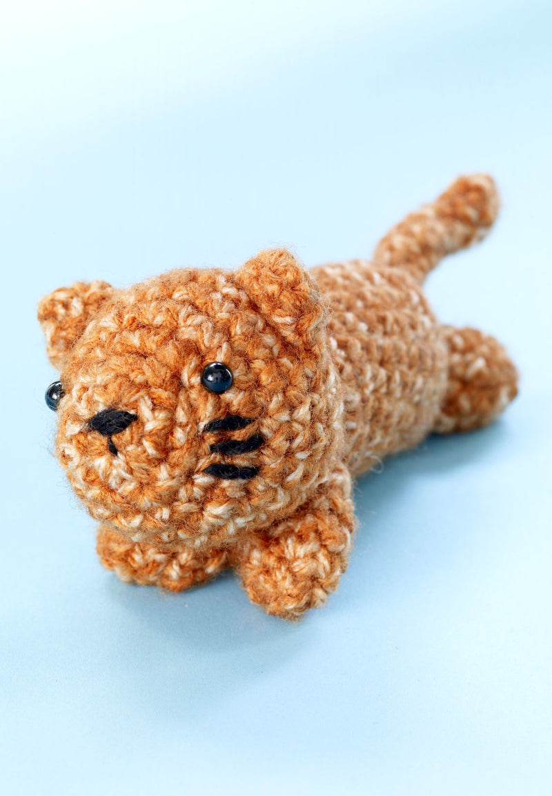 Tommy Tiger Pattern (Crochet)