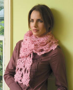 Trail of Blossoms Scarf Pattern (Crochet)