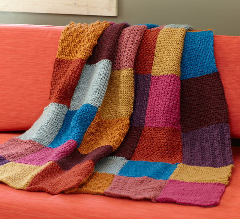 Tunisian Throw Pattern (Crochet)