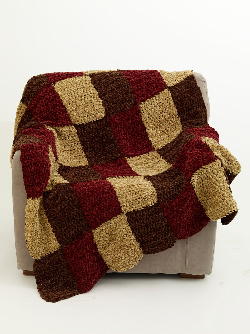 Warm Up America Blanket Pattern (Crochet)