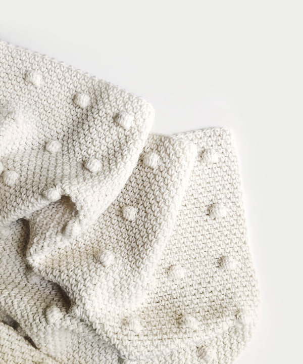 Crochet Kit - Dessa Dot Blanket