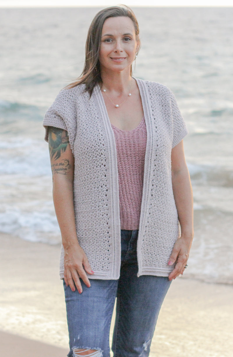 Crochet Kit - Hoku Summer Cardigan