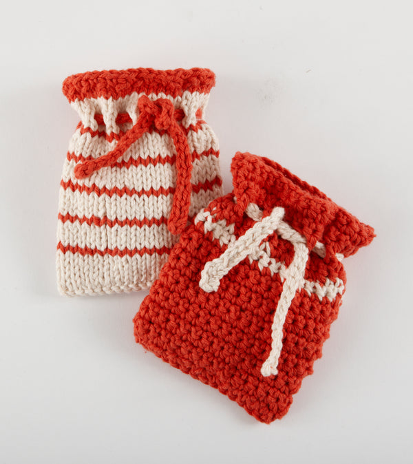 Knit And Crochet Soap Bags