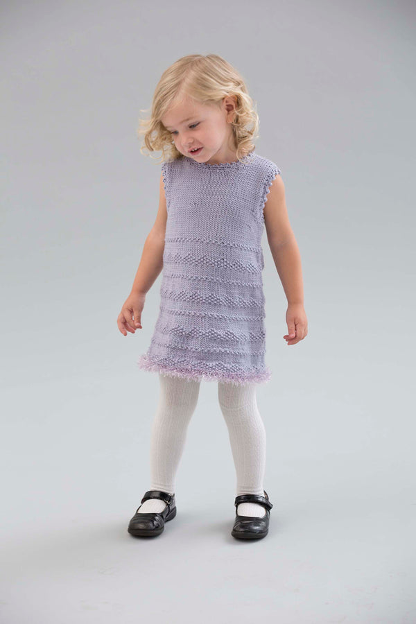 Little Sweetheart Dress Pattern (Knit-Crochet)