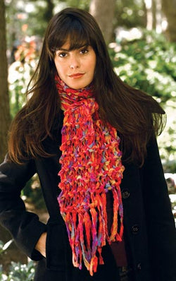 2-Hour Garter Knit Scarf (Knit)