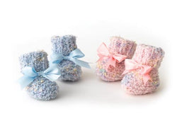 2 Needle Baby Booties Pattern (Knit)