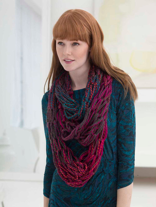 3 Strand Arm Knit Cowl
