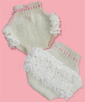 Baby Abbys Ruffled Bloomers Pattern (Knit)