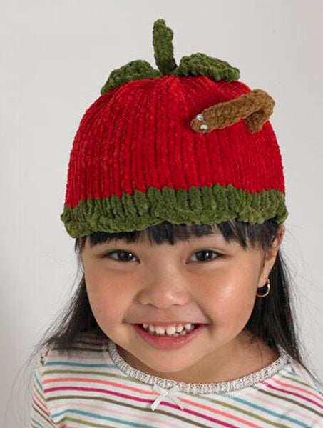 Baby Animal Apple Hat Pattern (Knit)