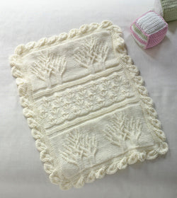 Baby Tree of Life Throw Pattern (Knit)