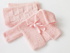 Babys First Cardigan Pattern (Knit)