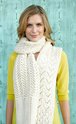 Barbizon Lace Scarf (Knit)
