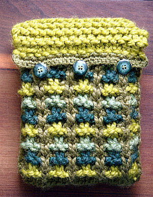 Book Tablet Cover Pattern (Knit)