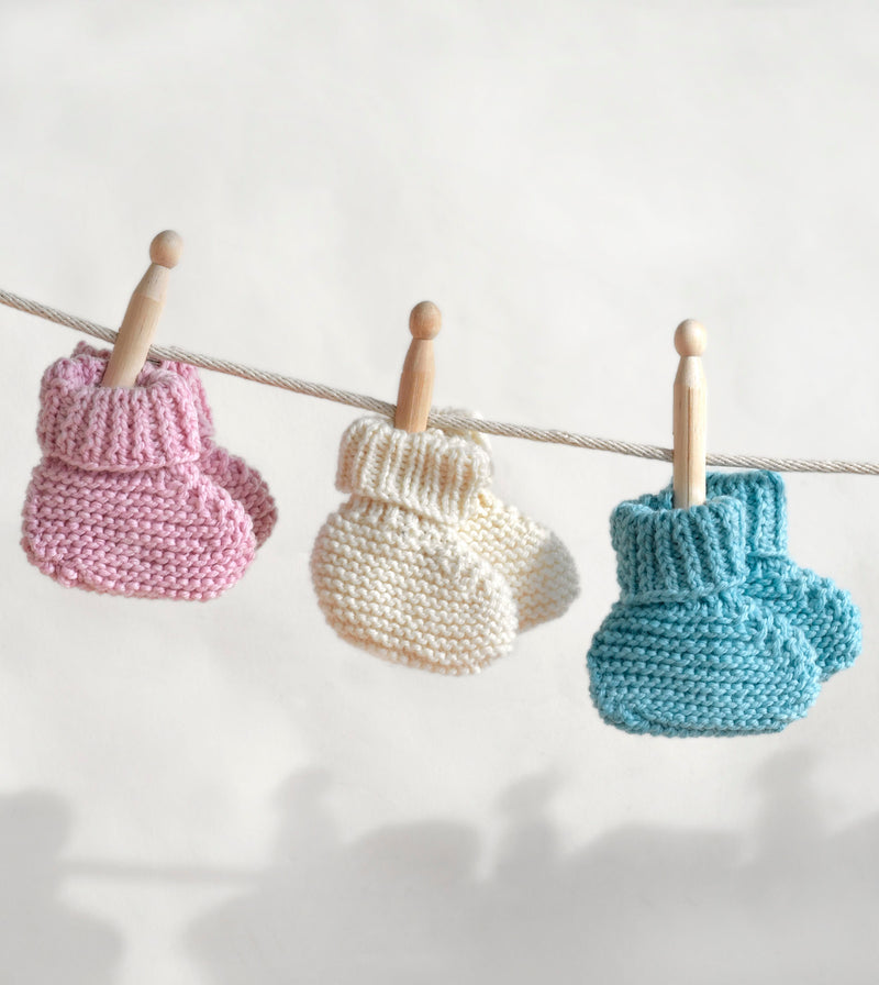 Booties Pattern (Knit)