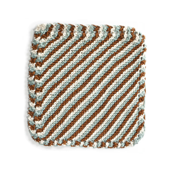 Brighton Beach Washcloth (Knit)