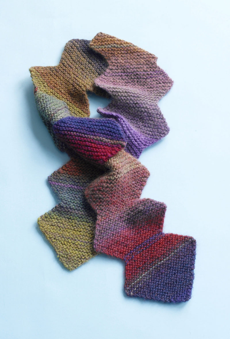 Brilliant Zig Zag Scarf Pattern (Knit)